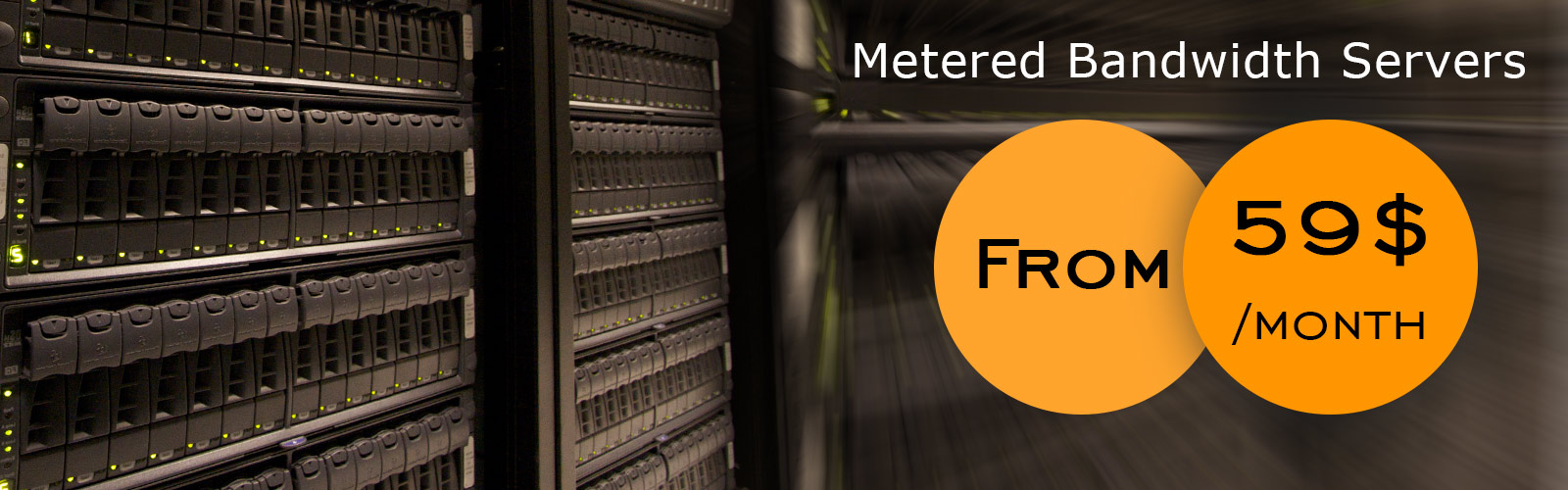 Metered Bandwidth Servers